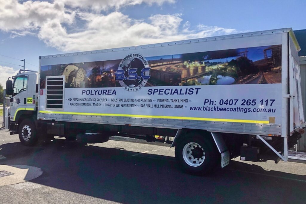 BSC Polyurea Coating Truck