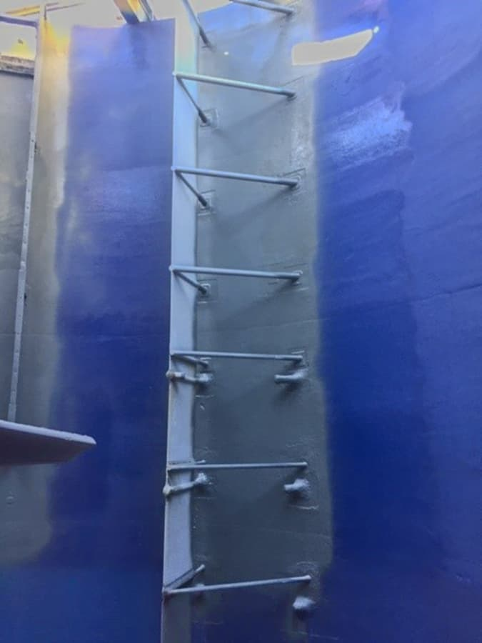 BSC Coatings polyurea internal lining for CIL tanks