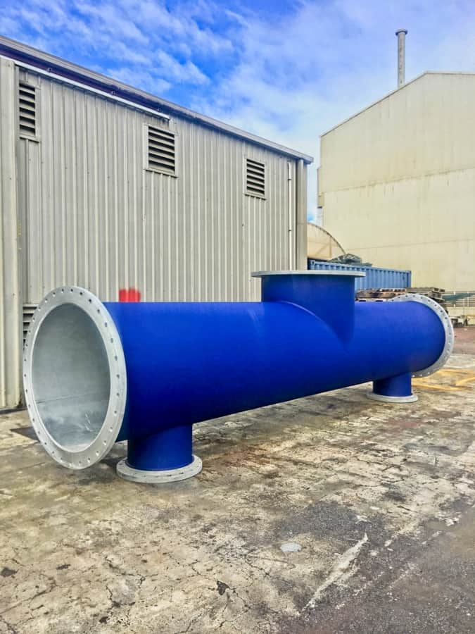 Pipe spools can be protected against corrosion and impact by BSC Coatings